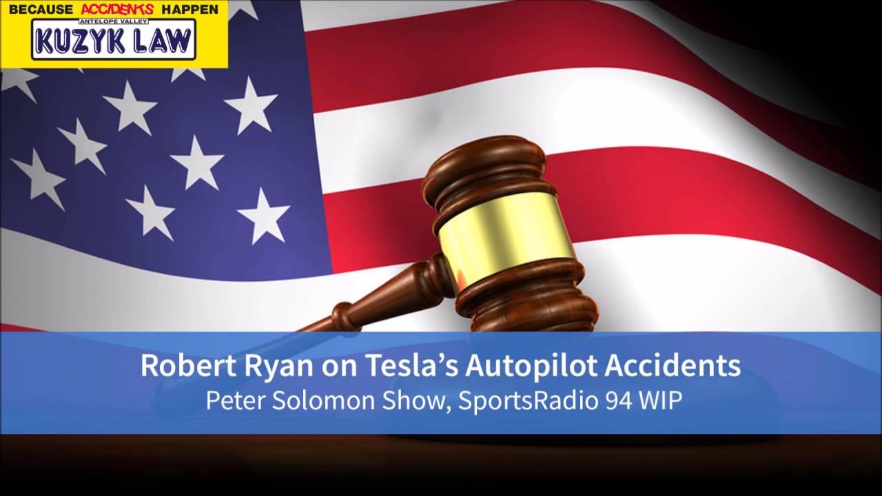 Robert Ryan on Tesla Autopilot Accidents - Car Accident Attorney Lancaster, CA